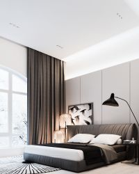 2 Modern Interior Style For Stylish Bedroom Design - RooHome