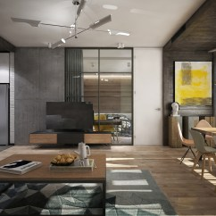 Kitchen Style Ideas Small Kitchens Awesome New York Apartment Interior Design With Open ...