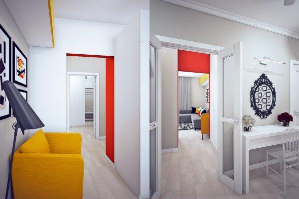 Unique Studio Apartment Design With Style In Room - Roohome