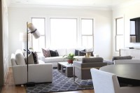 Modern Living Room Style With Contemporary Coastal Look ...