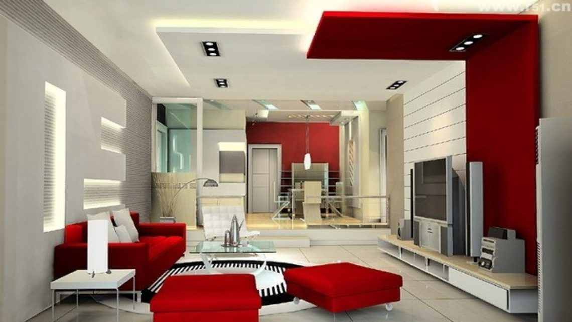 Living Room Decorating Ideas With Red And White Color Shade Looks So Awesome Roohome