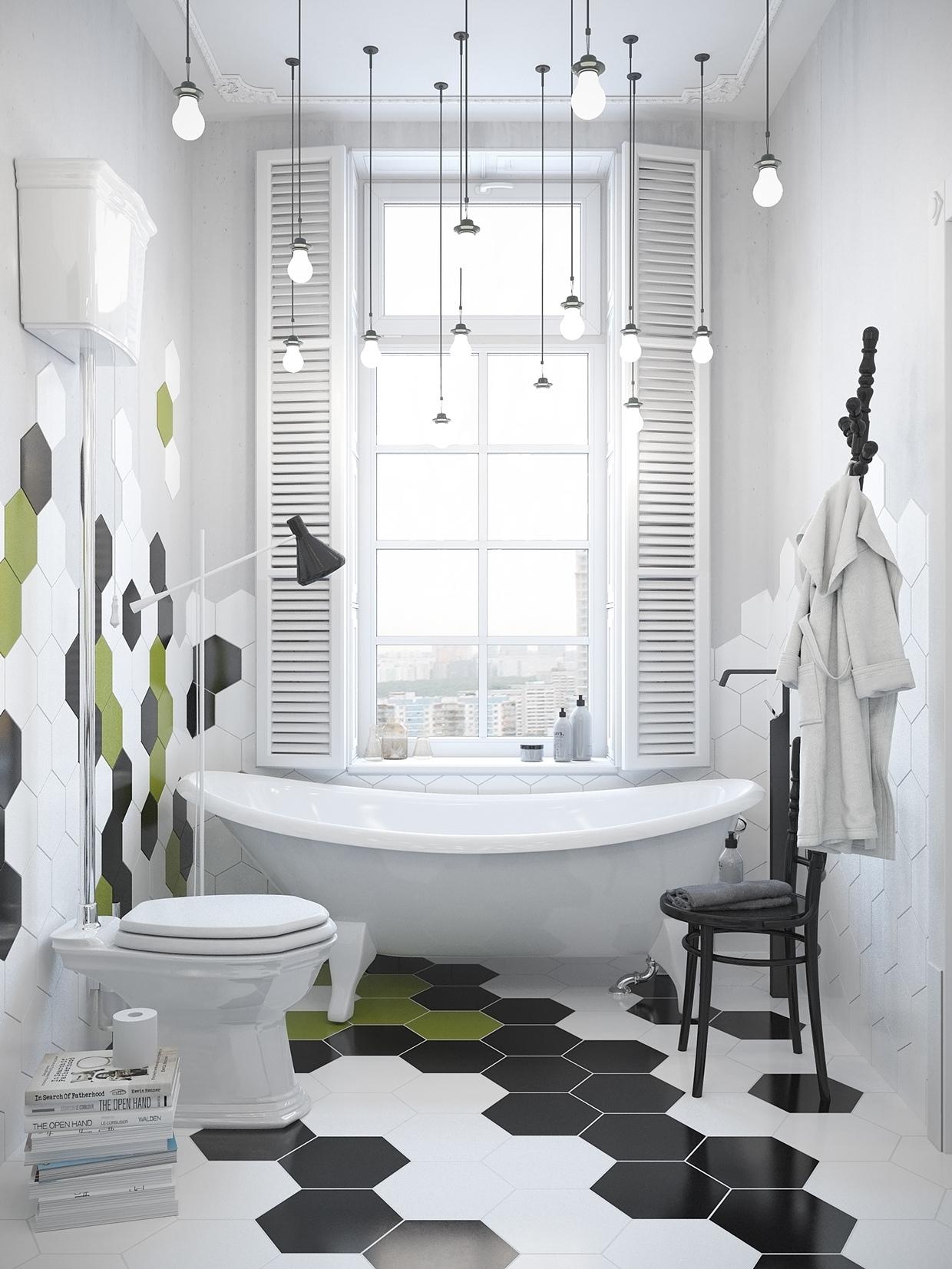 Scandinavian Bathroom Inspiration