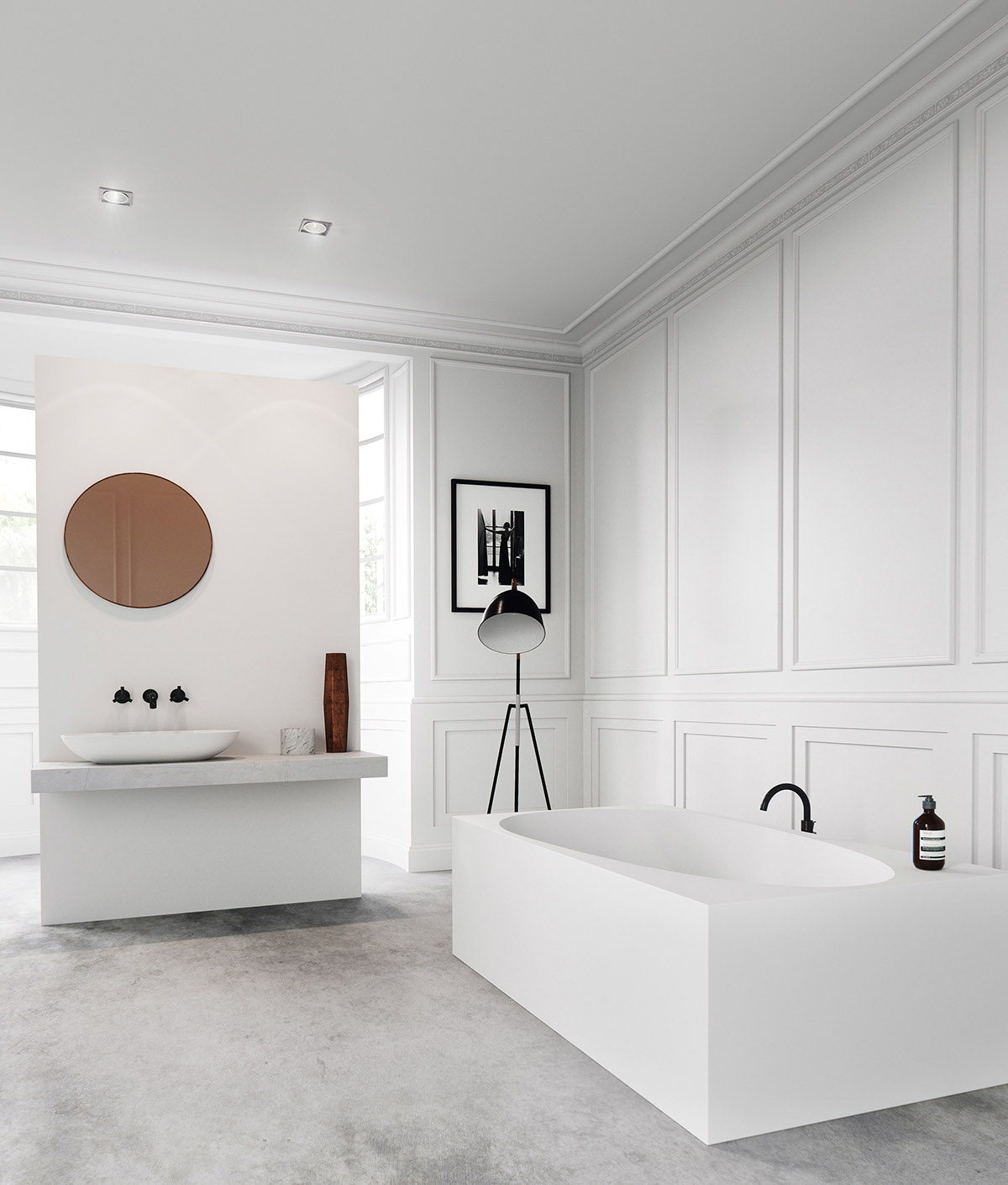 Elegant Bathroom Decor Ideas Which Show A Classic And Modern Interior Looks So Perfect RooHome