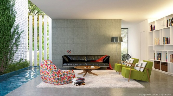 Contemporary Interior Design Living Room And Best
