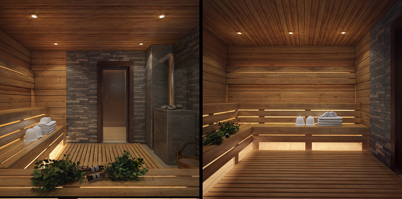 The Uniqueness Of Wooden House Design That Includes With Living And Spa Room In It Brimming A