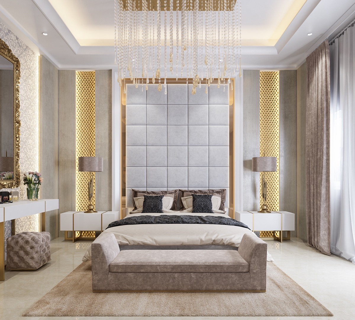 3 Kind Of Elegant Bedroom Design Ideas Includes a Brilliant Decor That Very Suitable To Apply ...
