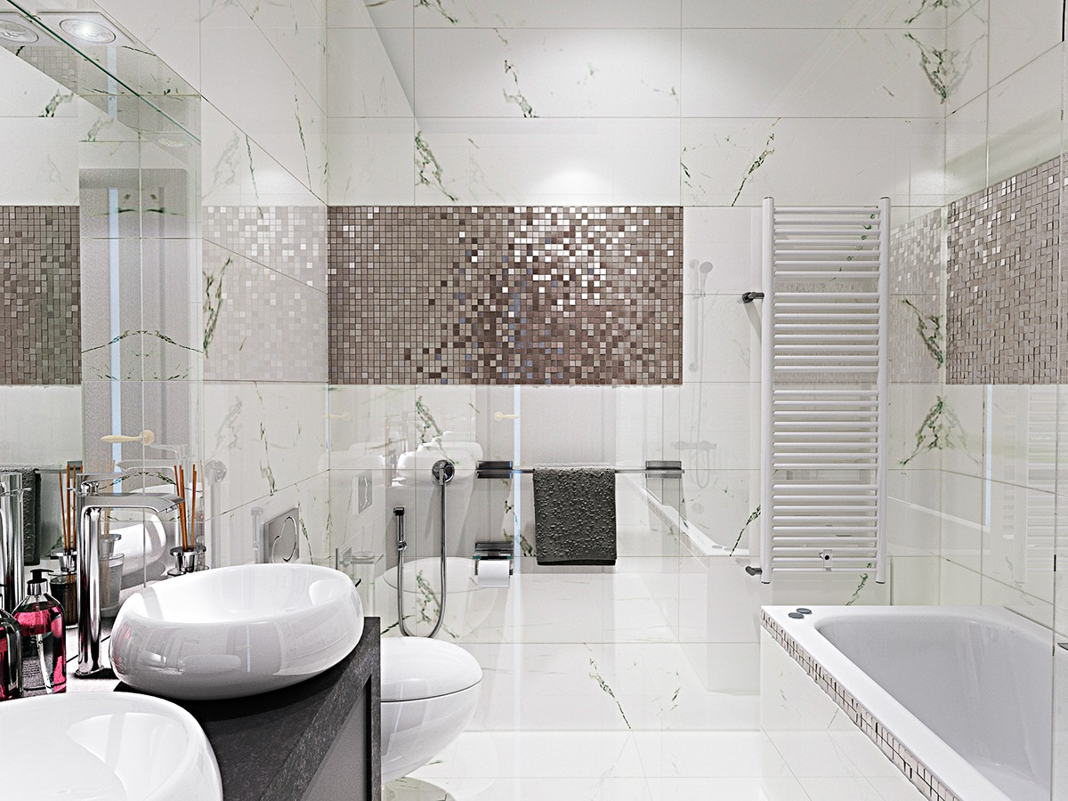 Elegant Bathroom Decor Ideas Which Show A Classic And