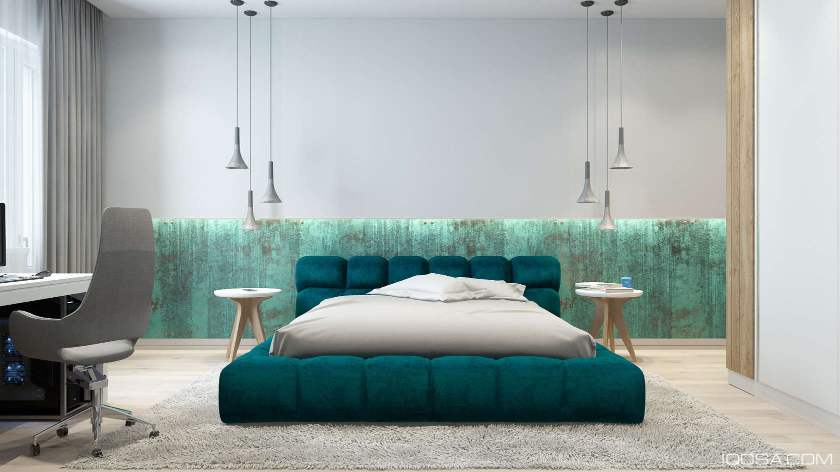 Luxury Small Studio Apartment Design Combined Modern And