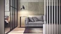 Simple Apartment Design Using Soft Color Decor Will Bring ...