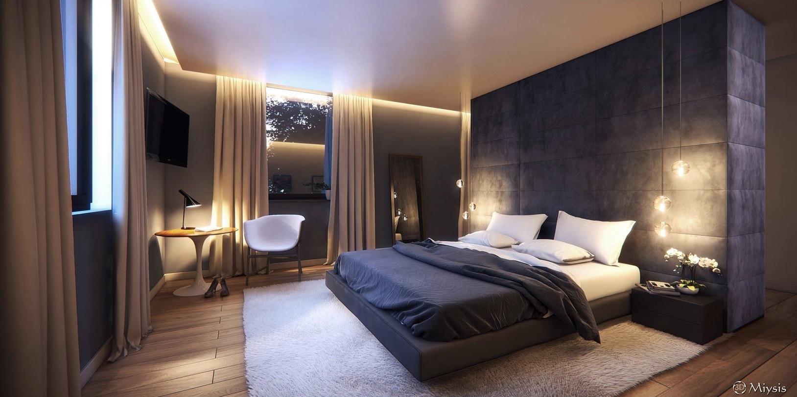 Best Kitchen Gallery: Interior Bedroom Design Yuliya Rastorguyeva Modern Minimalist of Bedroom Designes  on rachelxblog.com