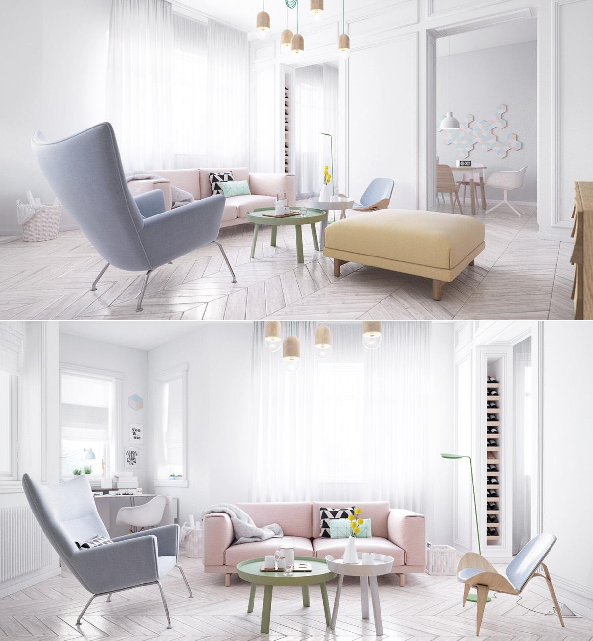 Variety of Scandinavian Living Room Designs Looks Perfect