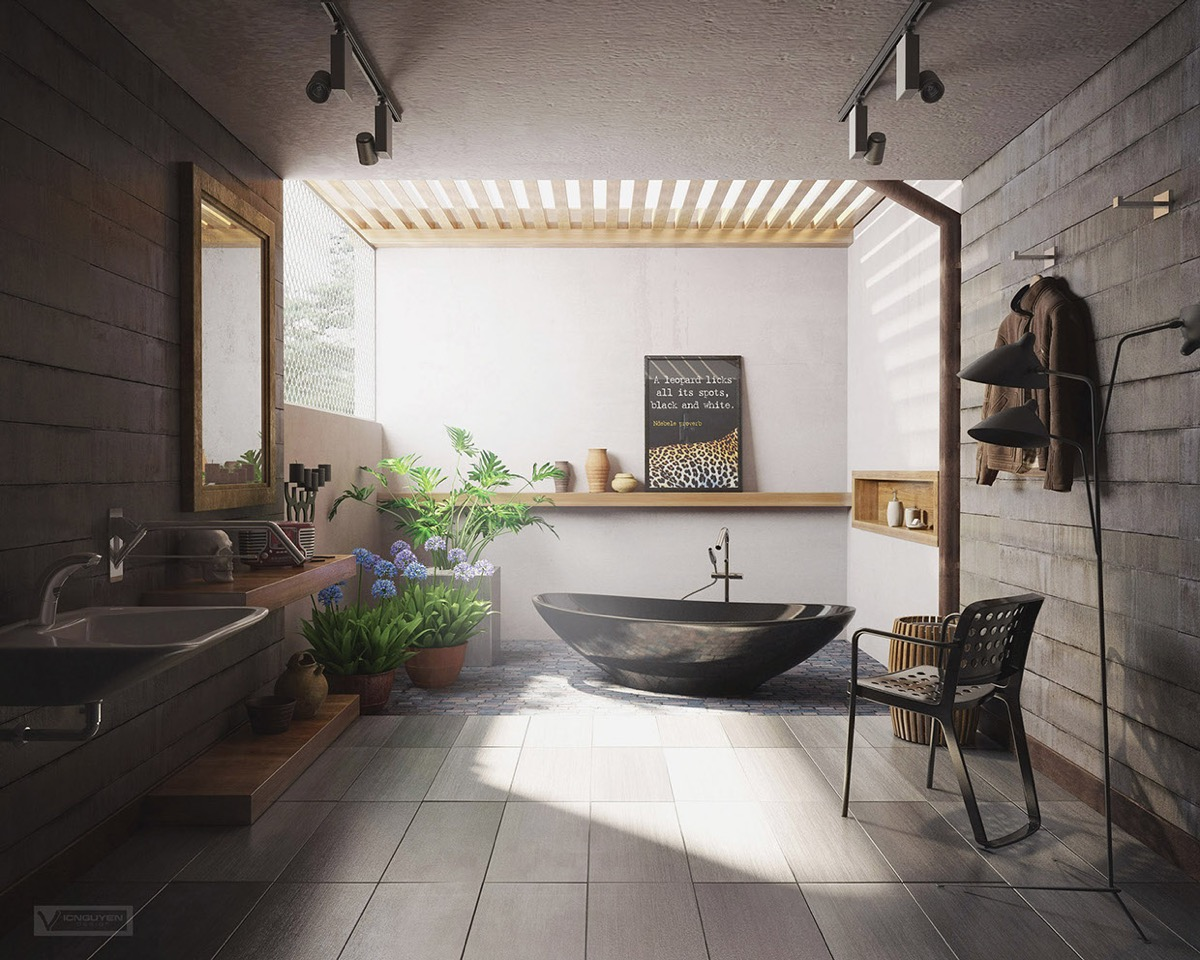 Modern Small Bathroom The Best Tips How To Arranged Modern Small Bathroom Designs
