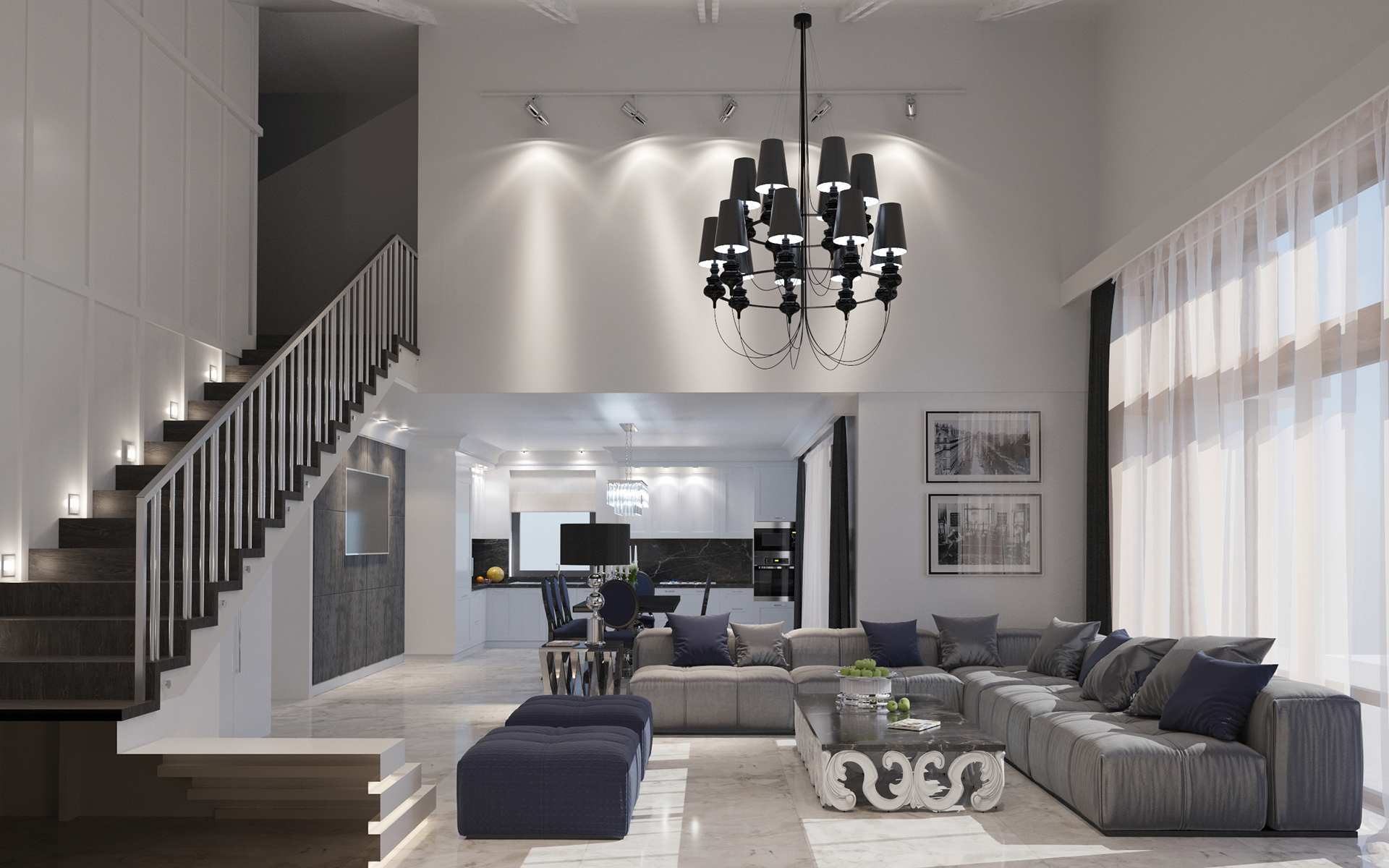 Types of Spacious Modern Living Room Designs Which Arranged With Luxury and Gorgeous Interior ...