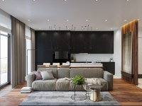 Applying a Rustic Studio Apartment Design Which Decor By ...
