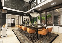 How To Arrange Modern Dining Room Designs Which Completed