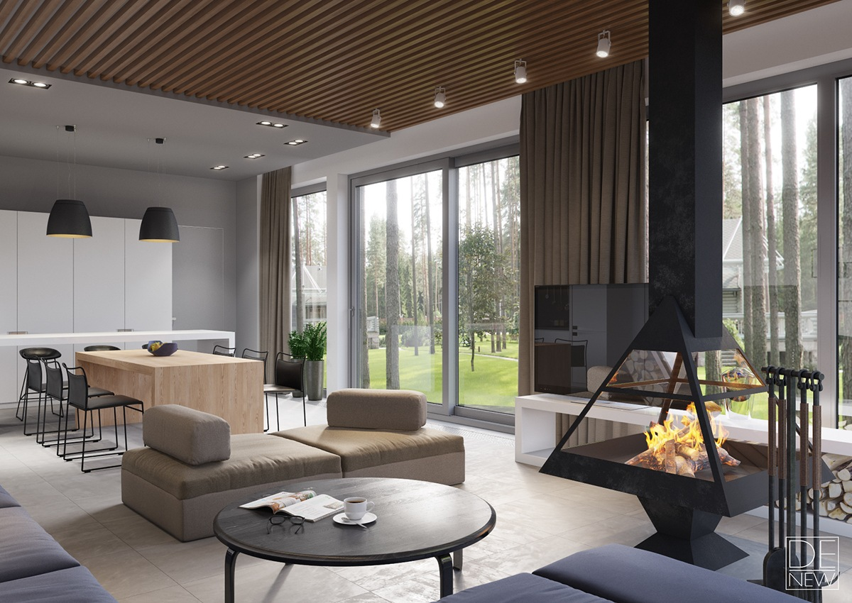 How To Arrange Luxury Home Interior Design Which Combine