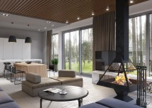 Arrange Luxury Home Interior Design Combine