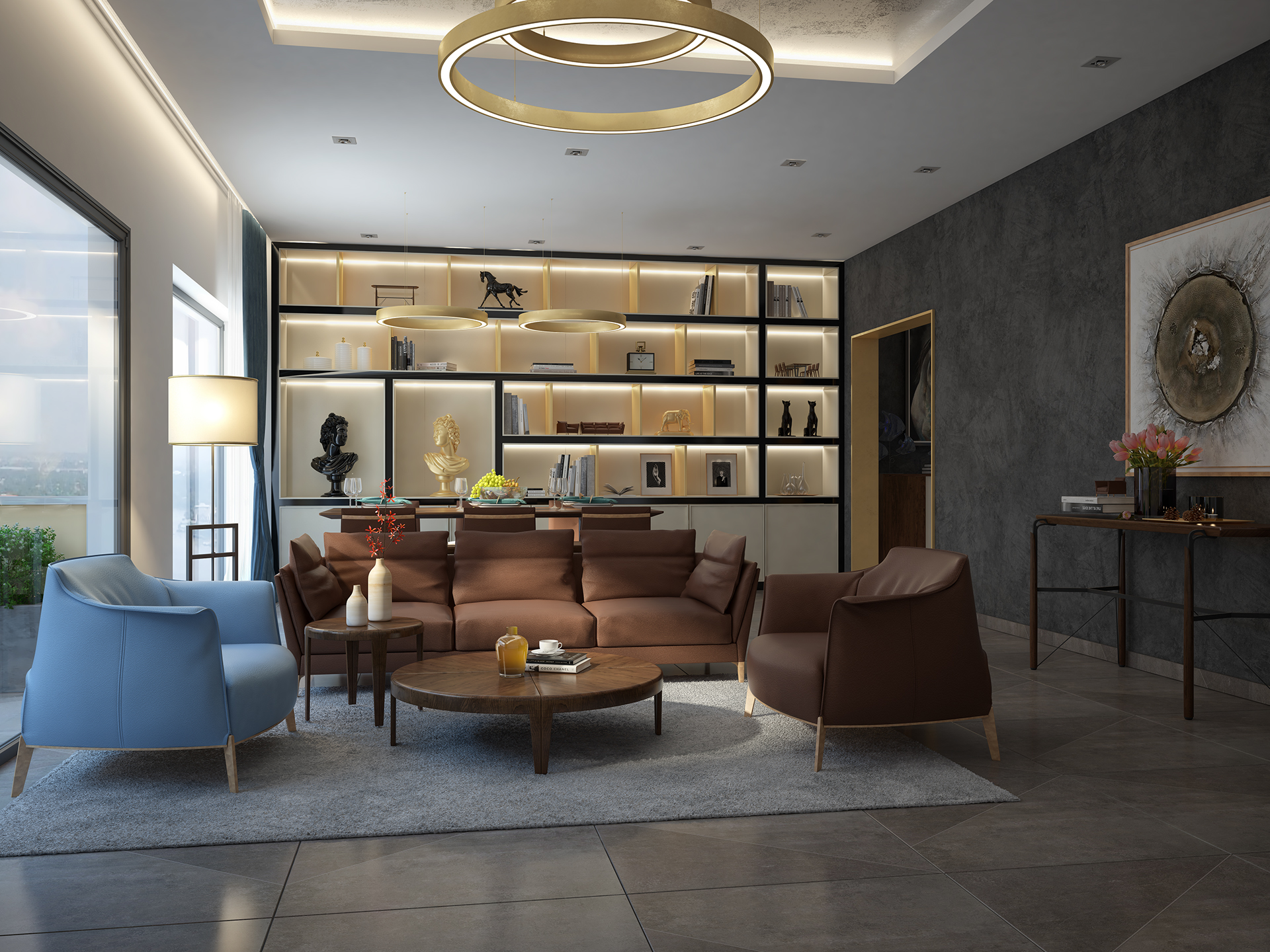 Types of Spacious Modern Living Room Designs Which