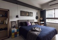 Fabulous apartment design decorated by industrial feel and ...