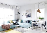 Scandinavian apartment design with beautiful and cute ...