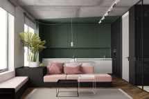 Great Inspiration Of Small Modern Studio Apartment