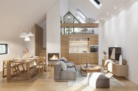 3 Fabulous Studio Apartments Arranged With a Stylish Loft ...