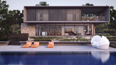 modern exterior facades designs brick wood storey long studio facade stunning types designing pool exteriors awesome contemporary aiko looks glass