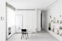 Modern Minimalist Apartment Interior Design with White and ...