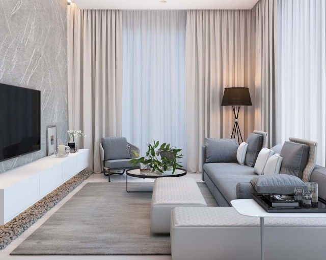 Simple Modern Apartment with Pastel Colors Looks So Cozy ...