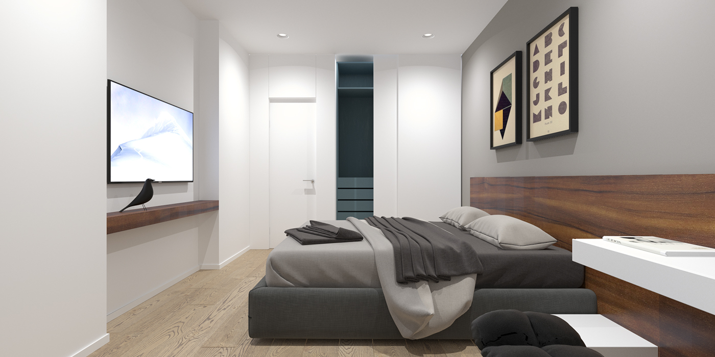 2 Modern Minimalist Home Design Exposed Brick And Wooden