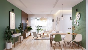 Modern Scandinavian Home Concept Design Suitable for Young ...