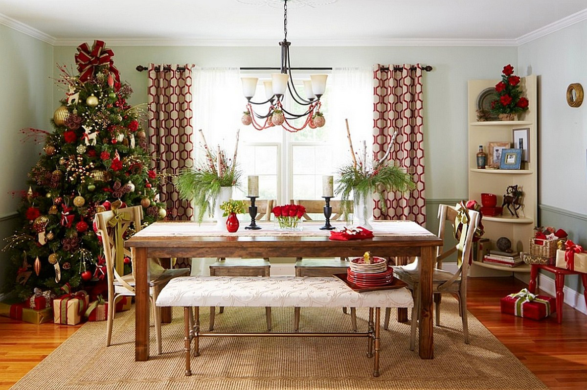 Christmas Dining Room Decor  Create a Christmas