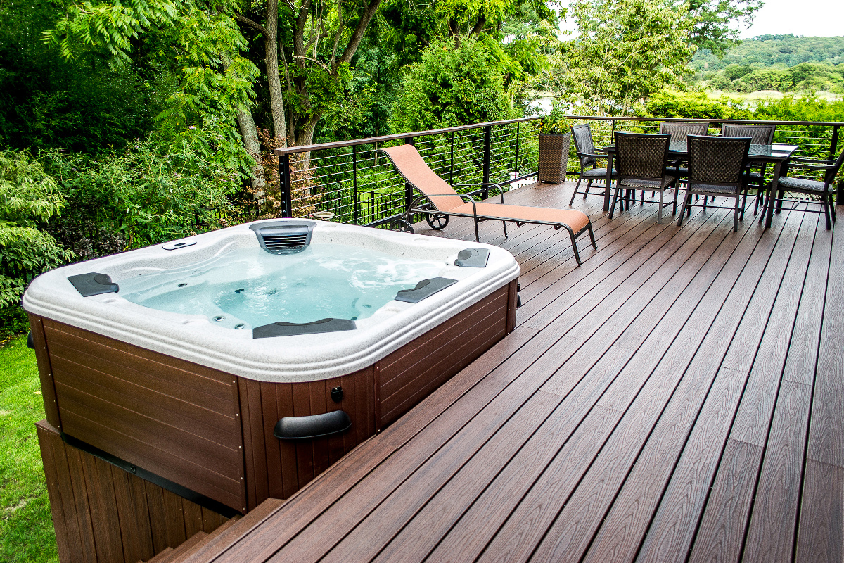 Outdoor Hot Tub Design Ideas  Check Out the Designs Here  RooHome