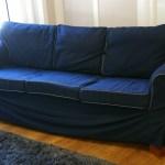 King Sofa Blue Sofas Ikea