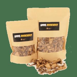 Appel Rookhout Snippers 1 en 3 liter voorkant