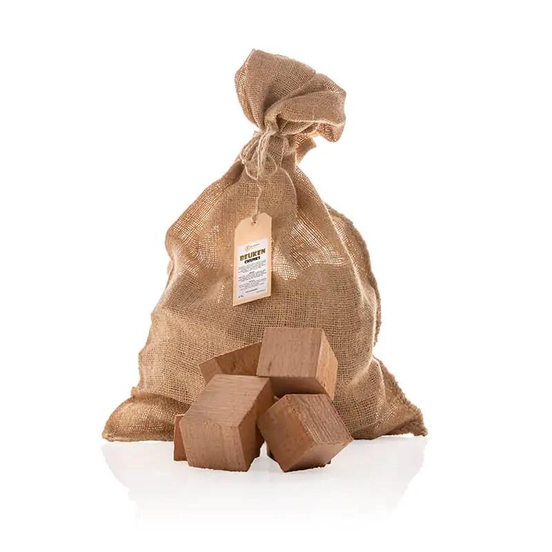 Beuken Chunks 2 1-2 kilo met los