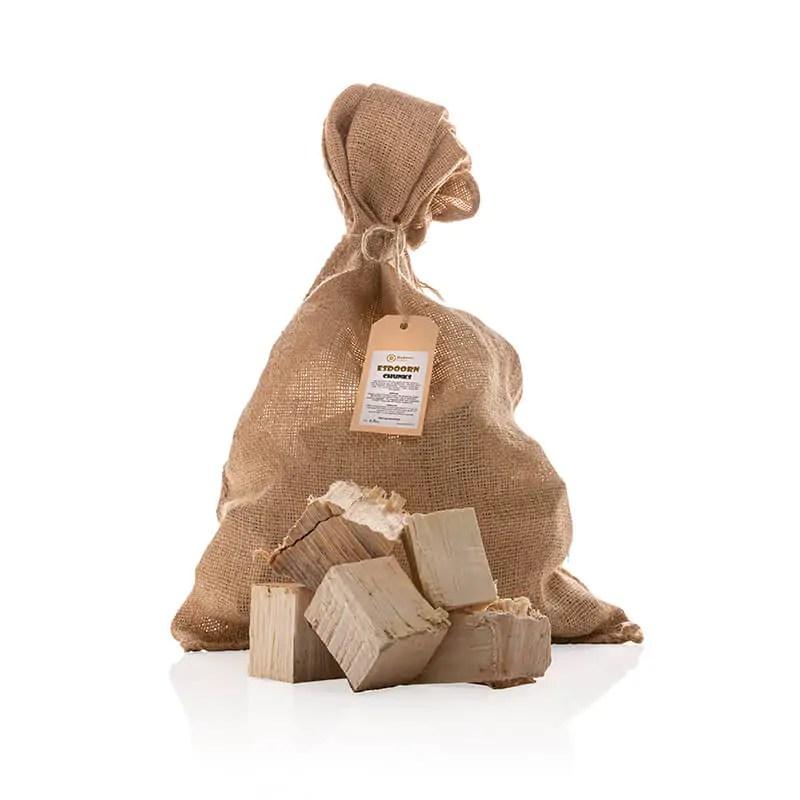 Esdoorn Chunks 21-2 kilo met los