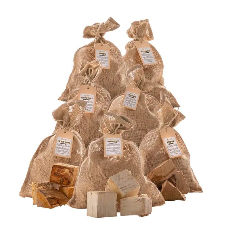rookhout chunks SmokeMaster Pakket