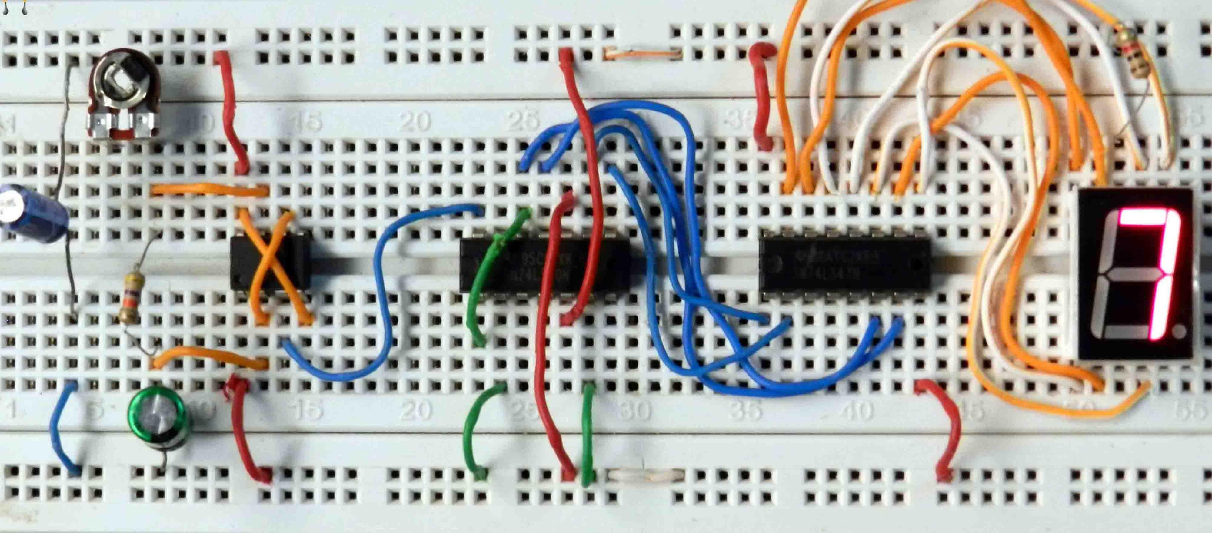 light sensor switch circuit diagram 3 phase autotransformer wiring mod-10 7 segment display | rookie electronics & robotics projects