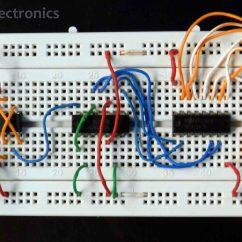 Seven Segment Pin Diagram American Standard Furnace Wiring Mod-10 7 Display | Rookie Electronics & Robotics Projects