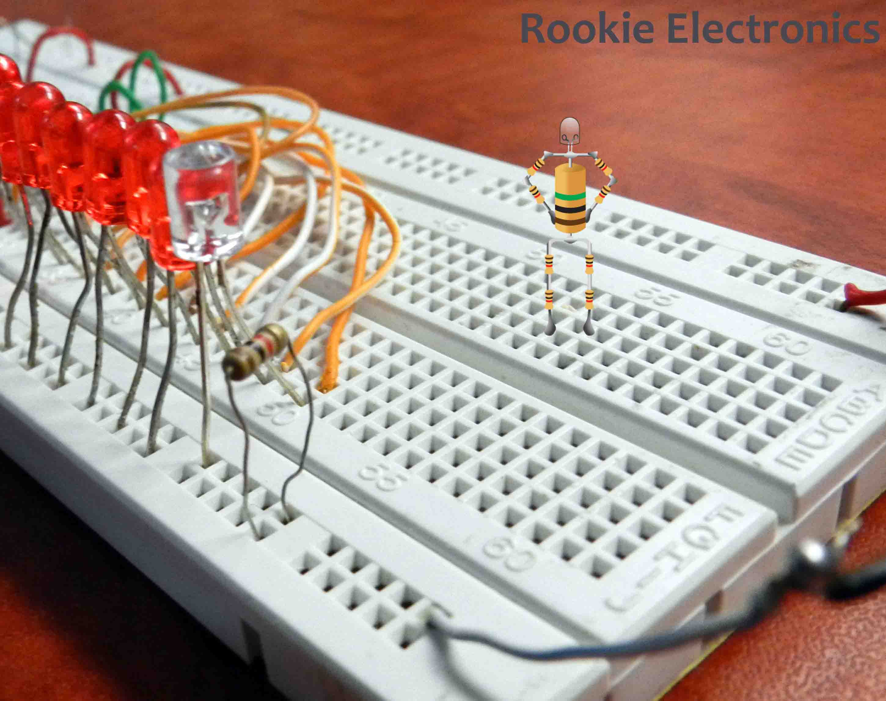 Circuit Led Chaser By Ic 4017 Ic 555 Pictures To Pin On Pinterest
