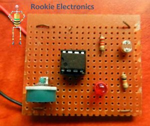 Simple Light Sensor using 741 Opamp   Rookie Electronics   Electronics & Robotics Projects