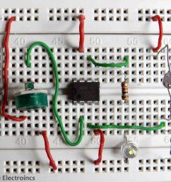 simple light sensor using 741 op amp [ 3536 x 2988 Pixel ]