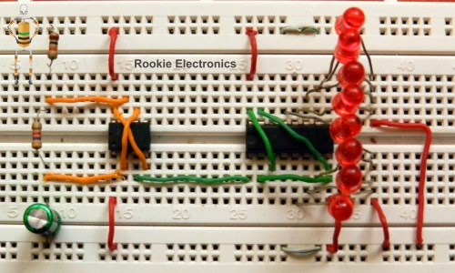small resolution of random led flasher rookie electronics electronics robotics projects
