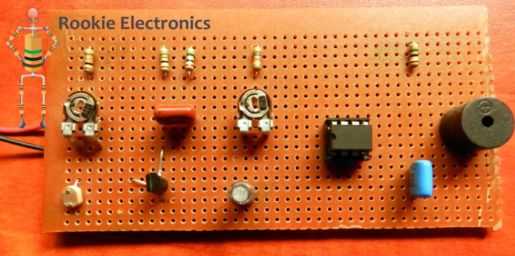 Simple Bedroom Lamp Timer Using Ic 741 Electronic Circuit Projects