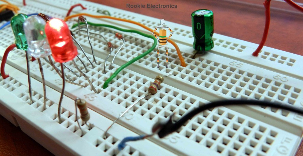 Traffic Light Circuit Diagram Using 555 Timer Ic