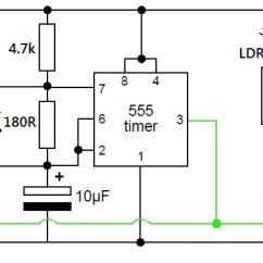 Simple Wiring Diagram Light Switch 2016 Nissan Versa Radio Lfr Using Just 555 Timers   Rookie Electronics & Robotics Projects