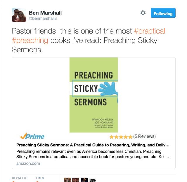 Preaching Sticky Sermons