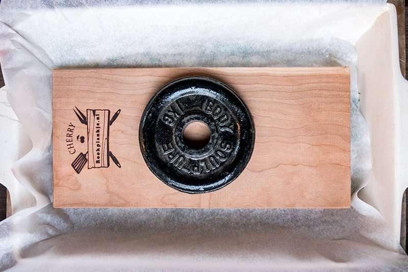 Recept | Koudgerookte zalm Whisky-sinaasappel | Rookplankje.nl