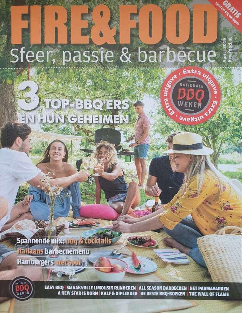 Fire&Food BBQ_Magazine | Gratis bij een bestelbedrag vanaf €15,- | Rookplankje.nl